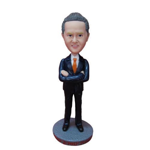 Custom bobbleheads:Business man 7