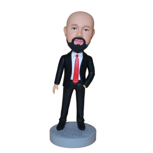 Custom Bobbleheads:Business man 9