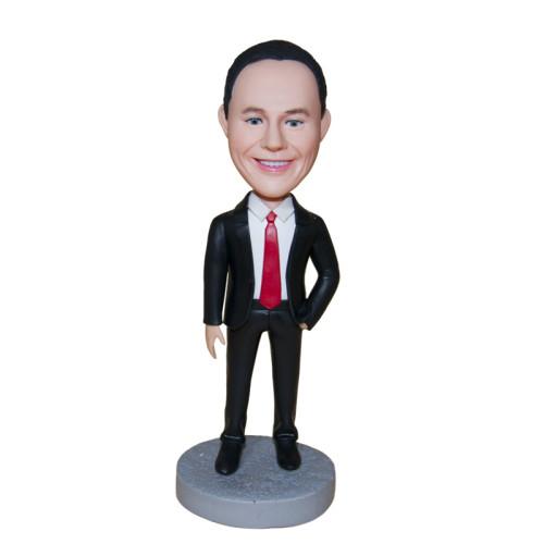 Custom Bobbleheads:Business man 8