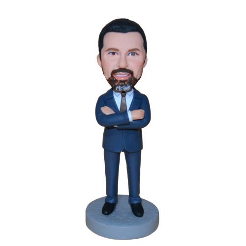 Custom Bobbleheads:Business man 10