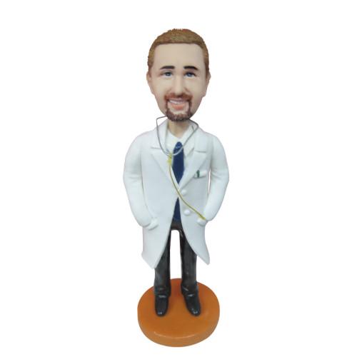 Custom Bobbleheads:Male doctor 2
