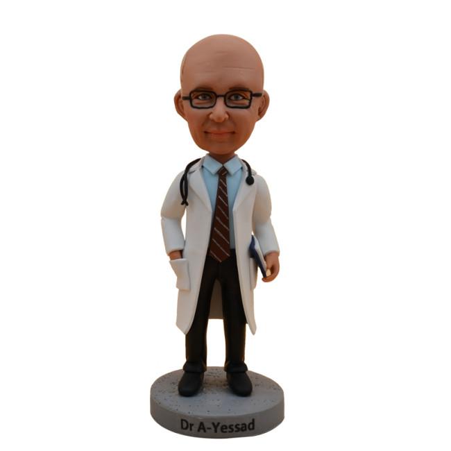 Custom bobbleheads:Male Doctor