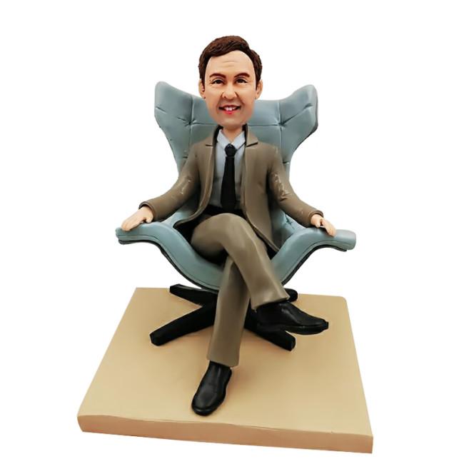 Custom Bobbleheads:Business man 11