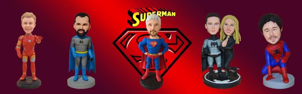 super hero bobbleheads