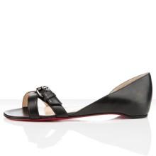 Christian Louboutin Atalanta Flat Sandals Black
