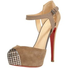 Christian Louboutin Boulima Exclusive D'orsay 120mm Sandals Taupe