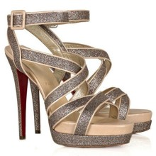 Christian Louboutin Straratata 120mm Sandals Multicolor