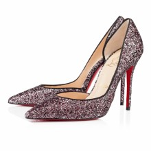 Christian Louboutin Iriza 100mm Special Occasion Rose Antique