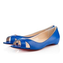 Christian Louboutin Croisette Flat Sandals Blue
