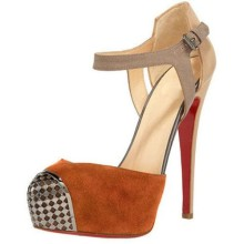 Christian Louboutin Boulima Exclusive D'orsay 120mm Sandals Brown