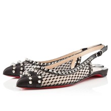Christian Louboutin Manovra Flat Sandals Black