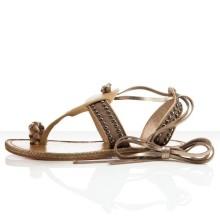 Christian Louboutin Hola nina Flat Sandals Camel