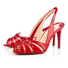 Christian Louboutin Corsetica 80mm Sandals Red