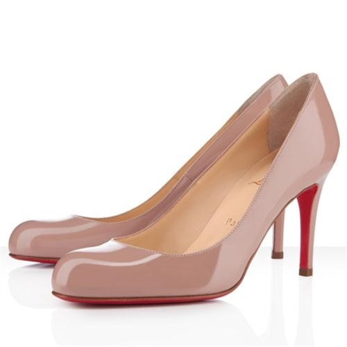 Christian Louboutin Simple 80mm Pumps Nude