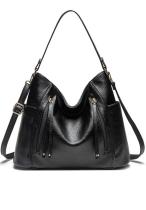 Black Large Capacity Tote Bag