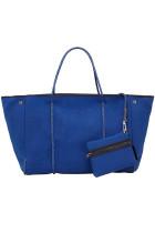 Blue Fashion Neoprene Beach Bag