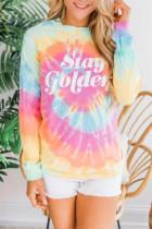 Stay Golden Tie-dye Sweatshirt