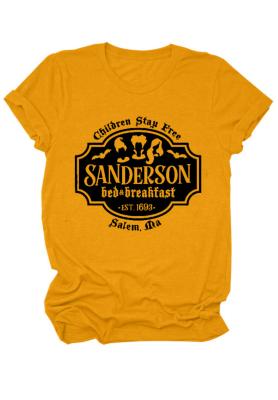 Sanderson Print Halloween Top