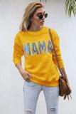 Leopard Mama Graphee Sweatshirts
