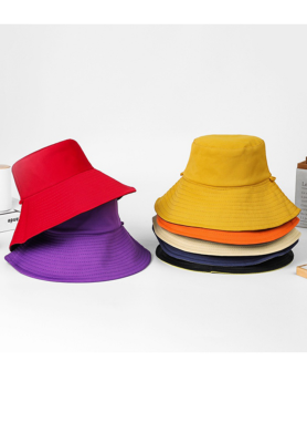 Solid Foldable Hat