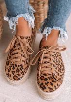 Brown Leopard Sneakers