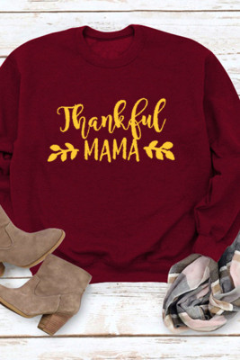 Thankful Mama Graphee Top Sweatershirt