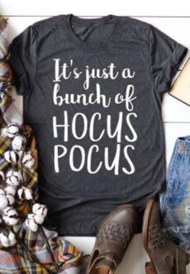 Hocus Pocus Halloween Graphee Top