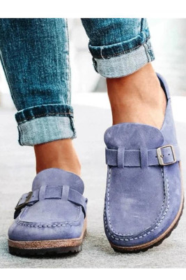 Solid Slip On Shoes