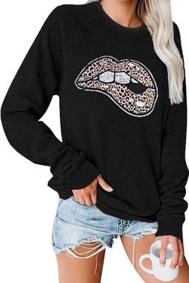 Leopard Lip Pullover