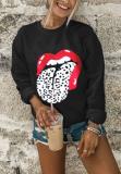 Leopard Tongue Sweatshirts