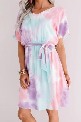 Twist Tie Dye Dress