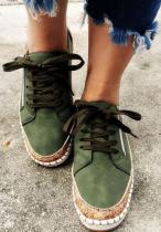 Solid Women Sneakers