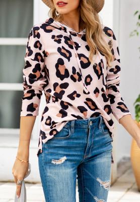 Leopard Pullover Hoodies