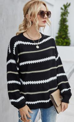 Striped Loose Sweaters