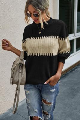 Stylish Loose Knit Sweater