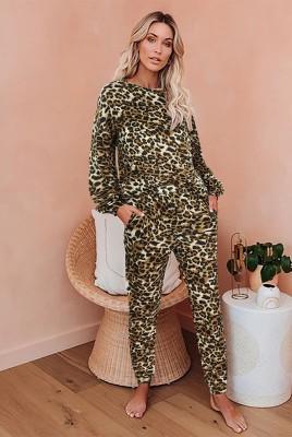 Leopard Loungewear Set
