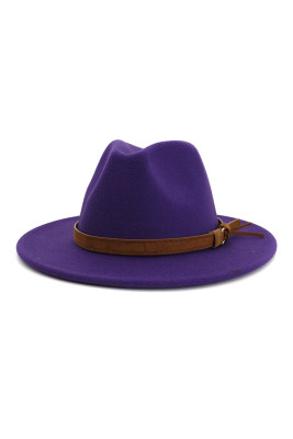 Purple Jazz Hat