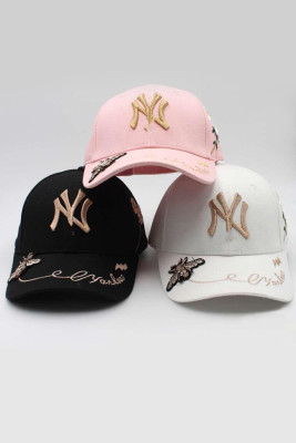 Bee Embroidery Cap