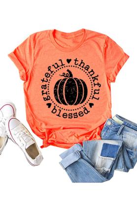 Pumpkin Graphee Top
