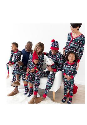Christmas Loungewear Pajamas Set For Mommy
