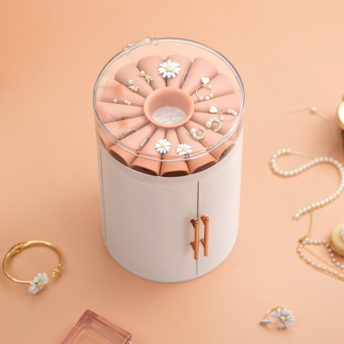 Five-layer multifunctional transparent jewelry box