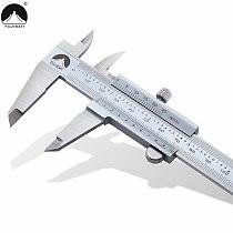 Vernier Caliper 0-150/200/300mm 1/1000in Micrometer Inch/Metric Metal Caliper Stainless Steel Sliding Gauge Measuring Instrument