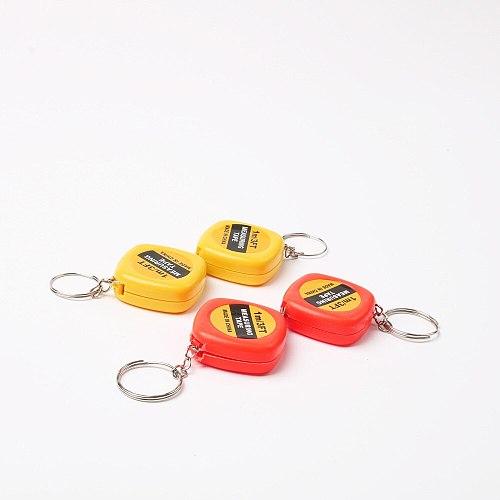 2 Pcs/lot Retractable Ruler Tape Measure 1m/3ft Sewing Cloth Metric Tailor Tool