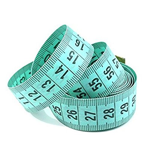 150cm/60  Body Measuring Ruler Sewing Tailor Tape Measure Centimeter Meter Sewing Measuring Tape Soft Random Color