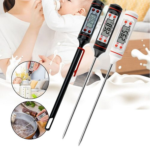 Digital BBQ Meat Thermometer Thermometer Electronic Cooking Food Thermometer Probe Water Milk Kitchen Oven Thermometer Tools#1