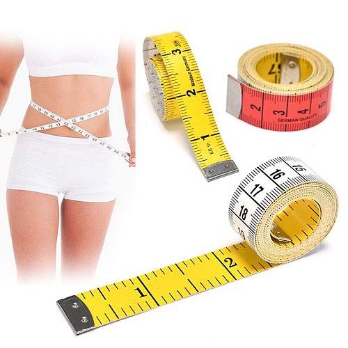 1.5M Sewing Measuring Ruler Tape Body Measuring Ruler Sewing Tailor Tape Measure Mini Soft Flat Centimeter Ruler Meter Tool