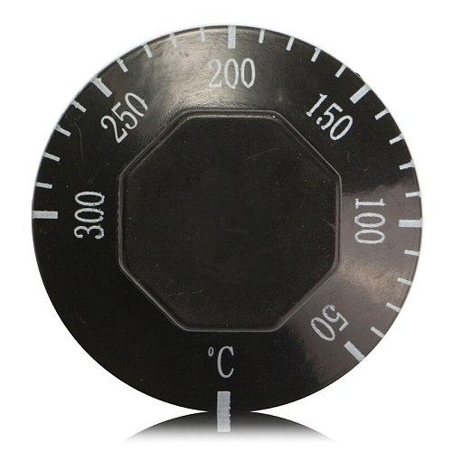 Thermostat AC 250V 16A 50-300/50-400 degrees Celsius Knob Liquid Rising Temperature Controller NO NC for Electric Oven