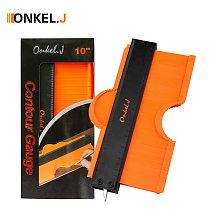 ONKEL.J Brand Lock Wider Contour Gauge Profile Tool Alloy Edge Shaping Wood Measure Ruler Laminate Tiles Meethulp Gauge