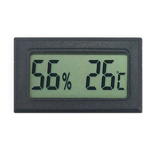 Mini Digital LCD Indoor Convenient Temperature Sensor Humidity Meter Sensor Fridge Thermometer Hygrometer Portable Gauge