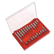 22Pcs Steel Dial Indicator Point Set 4-48 Thread Tip For Dial & Test Indicators   M13 dropship